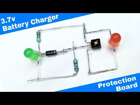 How To Make 3 7 Volt Battery Charger Using Bc547 Youtube Battery Charger Electronics Mini Projects Charger