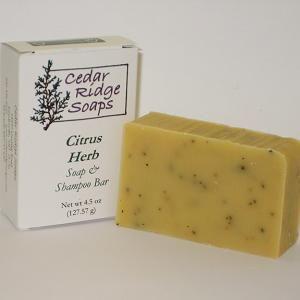 Cedar Ridge Soap $5.50