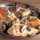 Try the Chicken Fricassee with Morel Mushrooms and Thyme Recipe on Williams-Sonoma.com