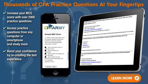 sample cpa questions