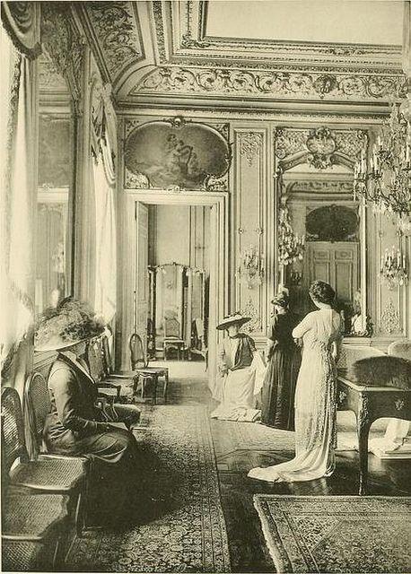 La mode salons and belle epoque on pinterest - Belle epoque interiors ...
