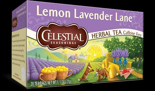 Celestial Lavender Tea. Only pinning to remind me how absolutely tasteless this is.