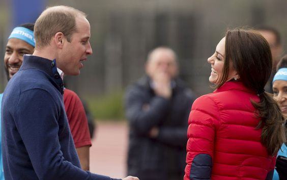 Prince William and Kate Middleton Looks of Love
