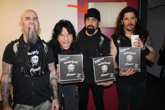 anthrax the band | Rob Caggiano of Anthrax Quits The Band - Royal Flush Magazine Royal ...