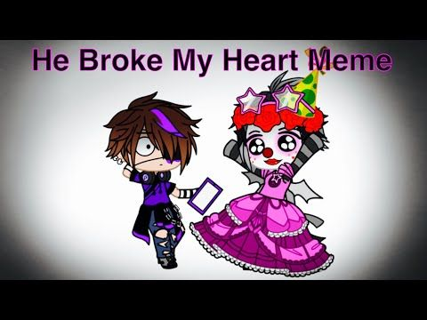 He Broke My Heart Meme Micheal X Ennard Fnaf Youtube Fnaf Fnaf Drawings He Broke My Heart