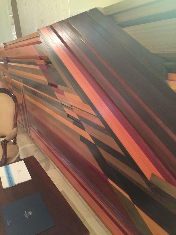 Amaizing #woodwork #wall #decoration #hotel #hotel #lobby