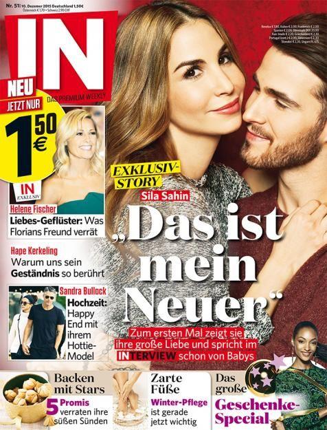 Exklusiv in der neuen Ausgabe der IN zeigt Sila Sahin ihren neuen Freund, den Hannover-96-Torwart Samuel Radlinger.