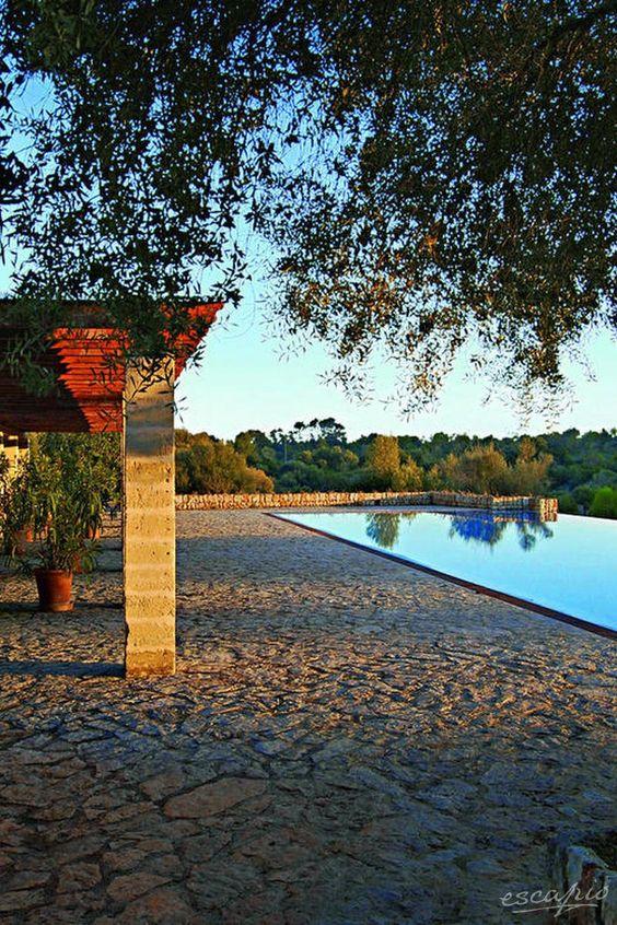 Idylllische Finca auf Mallorca. Hotel Rural Son Mas in Porto Cristo. Spanien. Spain.