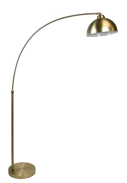 Grandview Gallery 68 5 Plated Gold Modern Arc Floor Lamp