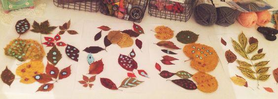 Décoration et peinture de feuilles d'automne !  Sweetpompon