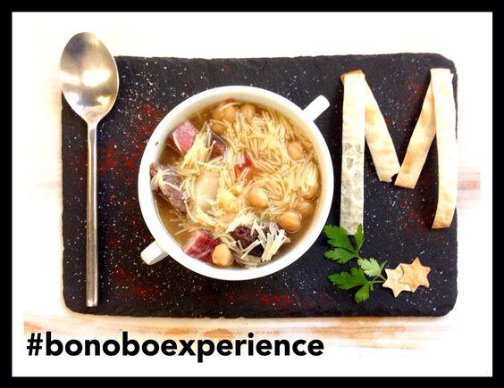 Sugerencia del #platodeldia  #cocidomadrileño rico rico. #todoslosviernes a #mediodia. #platodeldiabonobo #platodecuchara #instafood #alicante #Bonoboexperience #cocido #madrid #delicioso #gastronomia