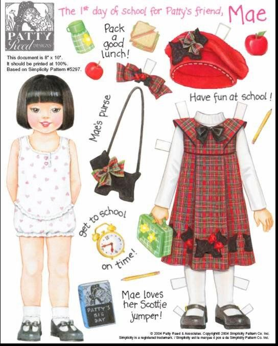 Bonecas de Papel: Bonecas Realistas