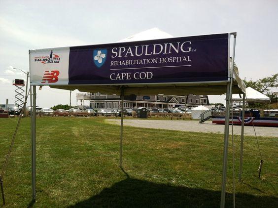 New Balance Spaulding Pop Up Tent Sponsor Signage | Sponsor Signage | Pinterest | Directional signage Signage and Graphics & New Balance Spaulding Pop Up Tent Sponsor Signage | Sponsor ...