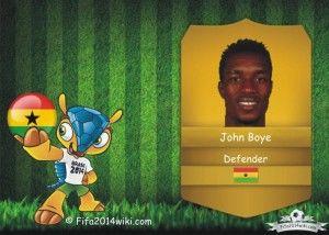 John Boye - Ghana Player - FIFA 2014