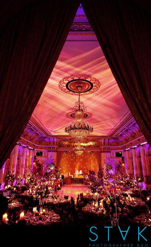 gold + purple    Great lighting!!