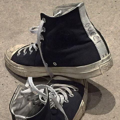 sawyerkane: Gucci x Converse (at London