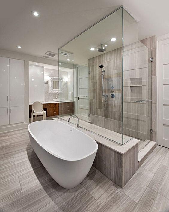 Future ensuite bathroom please dream home ideas pinterest the floor large shower and - Futuristic bathroom ideas ...