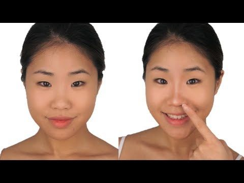 Plastic Surgery Or Contour How To Nose Contour Flat Asian Nose 1 Mercy Makeup Blog Nose Contouring Nose Makeup Big Nose Makeup