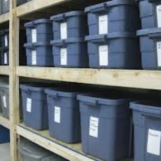 Storage Containers Are Great For Prepping. Help With Pest