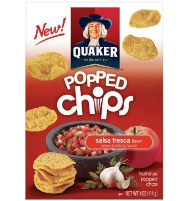 Une petite nouveauté Quaker pour l'apéritif. On connaissait les pétales croustillantes à base de maïs ou de riz légèrement soufflés. Et bien...