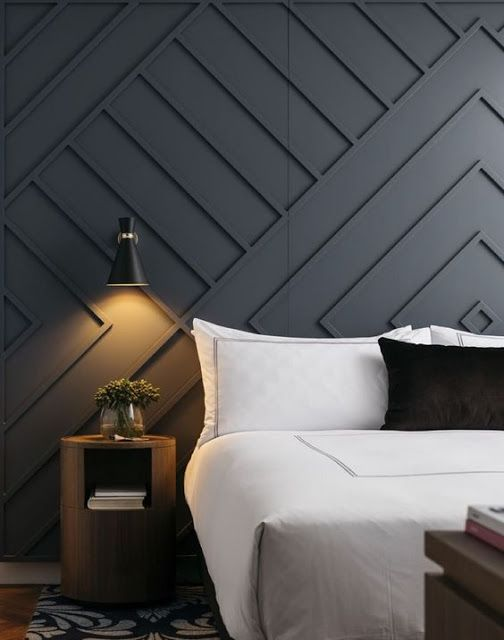 Master Bedroom Planning A Wall Design Feature Wall Bedroom Wall Panels Bedroom Bedroom Wall Designs