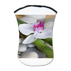 Kindle Sleeve Case (2-Sided) Orchid and River Stones --- $44.97