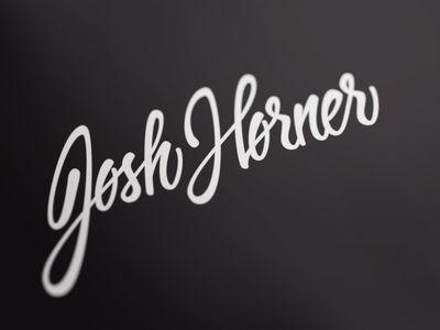 Josh Horner logo design