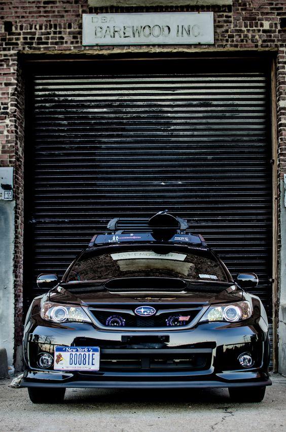 Ordinaire Subaru WRX STI Complete With Snowboard Rack Ready For Winter. I Appreciate  The License Plate Haha