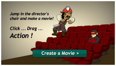 create a movie dialogue for free with goanimate