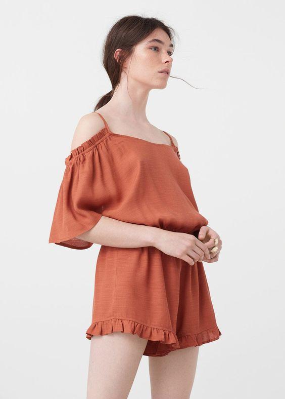 Combinaison épaules dénudées - Femme | OUTLET France