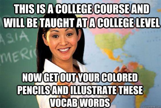 Unhelpful High School Teacher: Meme Bucket, Scumbag Teacher, High School Teachers, Sweet Home, Teacher Humor