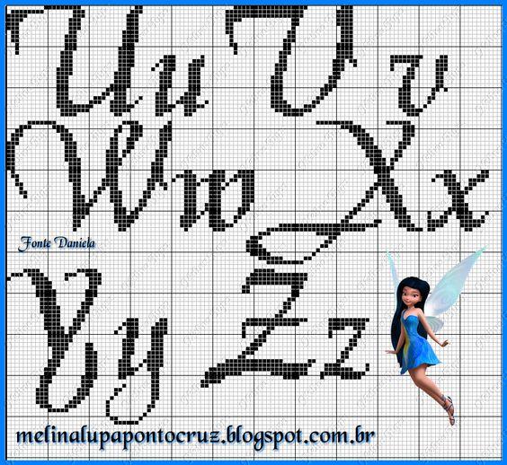 Detalhes que Encantam: Monograma Fonte Daniela