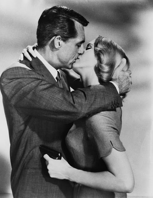 Cary Grant & Eva Marie Saint - North by Northwest (1959):