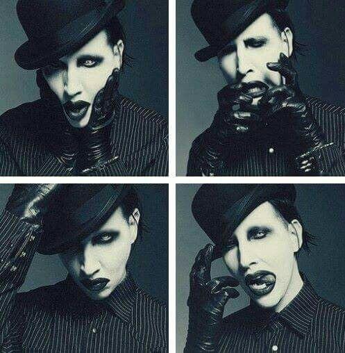 表情豊かなMarilyn Manson