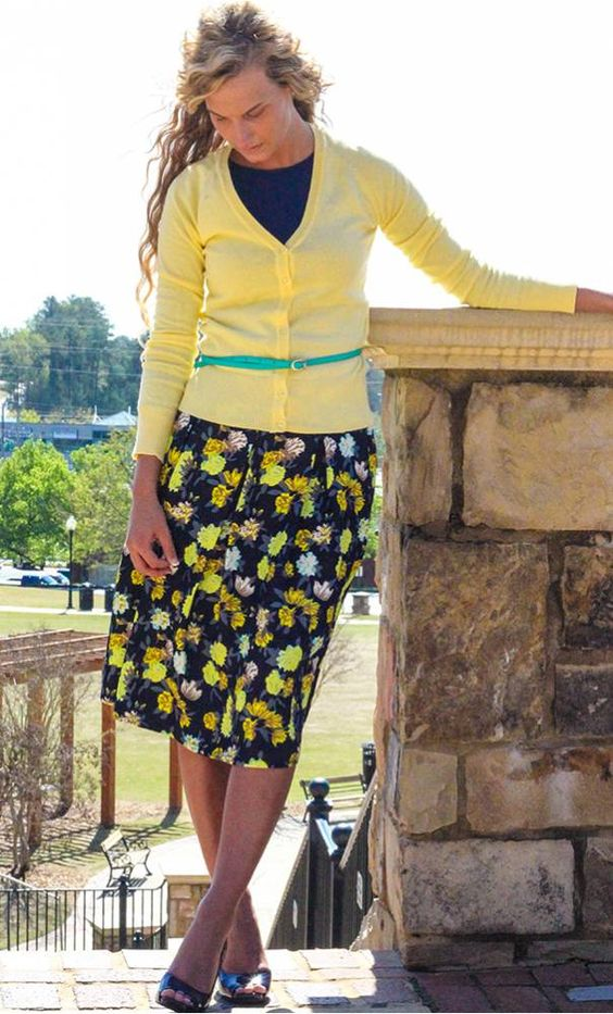 Cute Denim Skirts