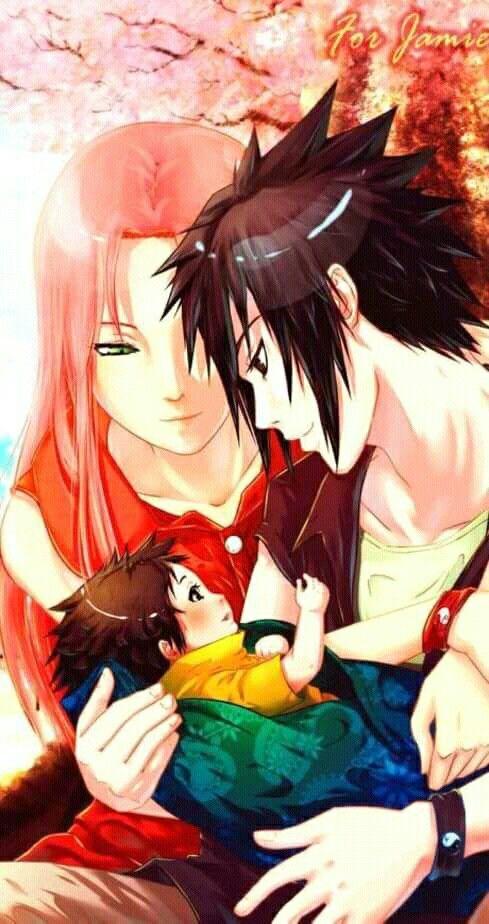 Keluarga Uchiha Naruto Wallpaper Sakura And Sasuke Naruto Art