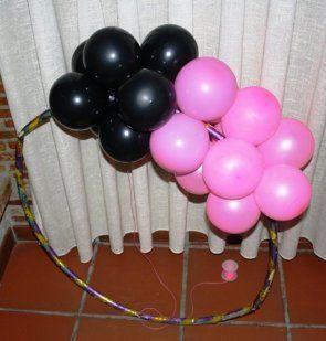 Decoracion con globos manualidades decorating ideas and - Manualidades con globos ...
