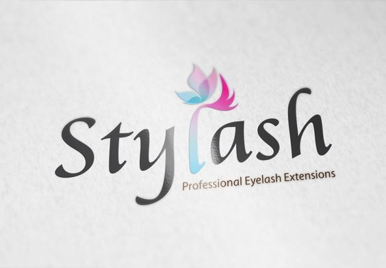 Eyelash Extension Store Logo Branding Logo Design