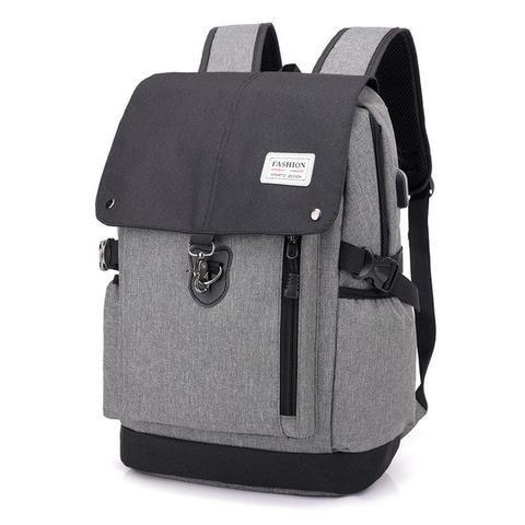 Women Men Canvas Backpacks Large School Bags Teenager Boys Girls Travel Rucksack