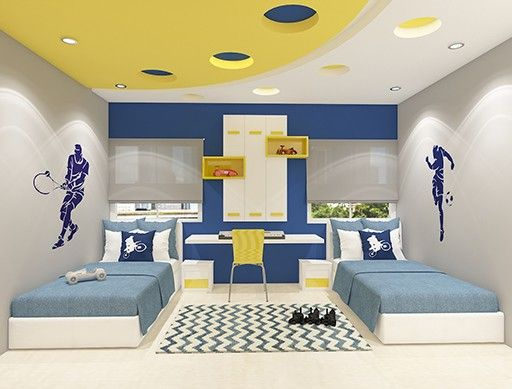 Children bedroom false ceiling design in 2019 | Bedroom ...