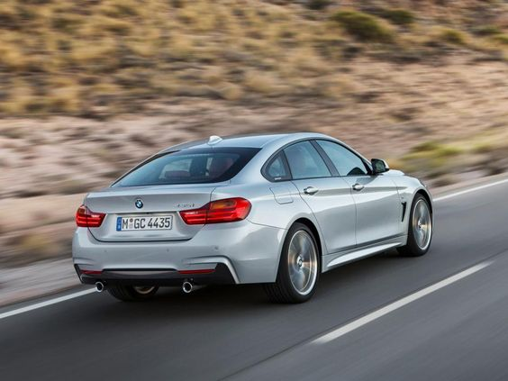 F36 435i 2014, continuous shape - refined geometry