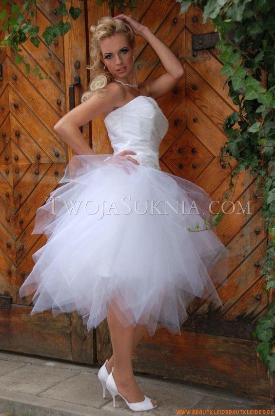 Süße Traumhafte Designer Kurze Brautkleider