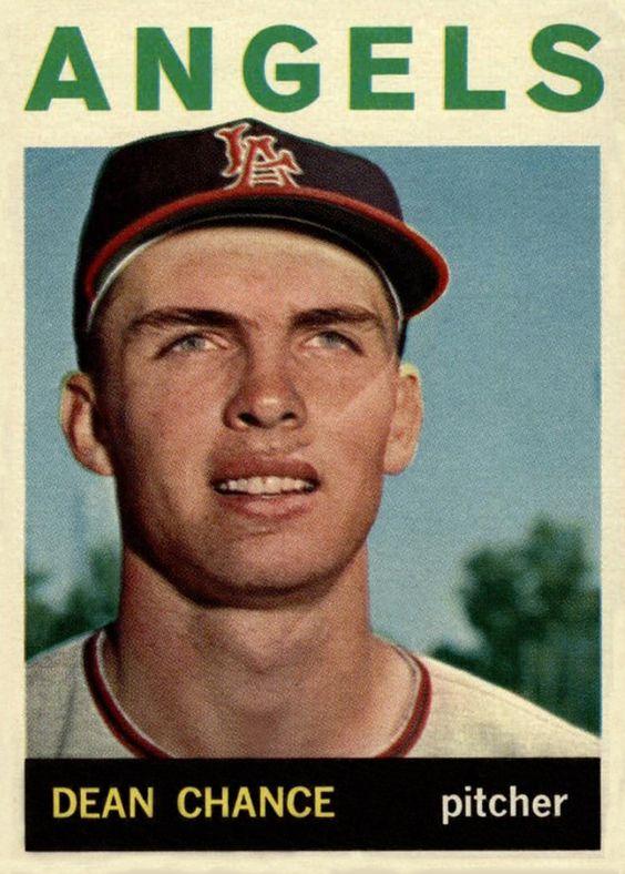 1964 Topps Dean Chance