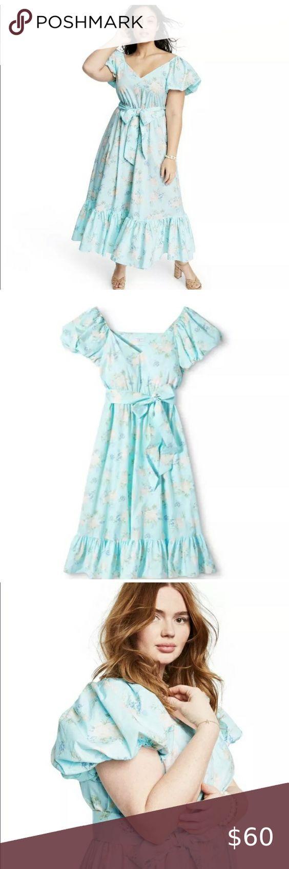 Loveshackfancy For Target Plus Size Maxi Floral 14 Plus Size Maxi Stunning Dresses Plus Size [ 1692 x 564 Pixel ]
