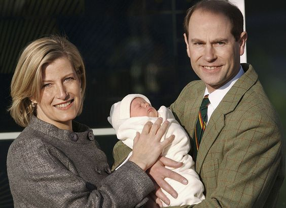 2007: The Earl and Countess of Wessex announce the birth of James, Viscount Severn is born.