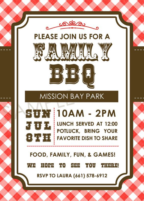 spring sale family bbq picnic family reunion western