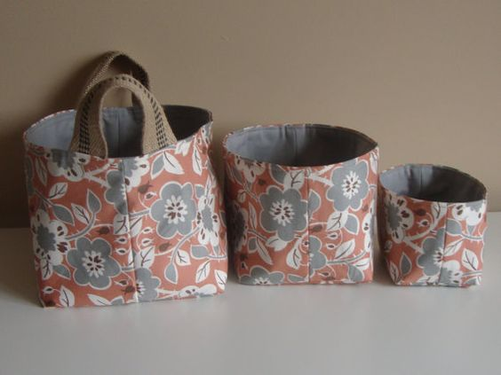 Nesting Buckets by ShaggyBaggy on Etsy, $56.00