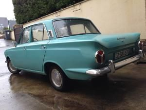 Ford Cortina Mk1 1966 Blue Light For Sale Car Advert 240922