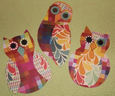 Adventures in Teaching: Scrapbook paper Owls :)