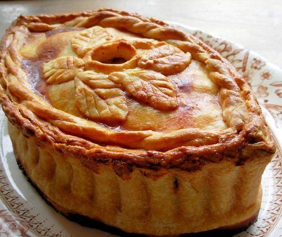 Pies, Simple Simon Met a Pieman ~ Raised Chicken and Ham Pie